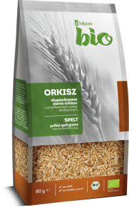 ORKISZ EKSPANDOWANY BIO 80 g - SOLIGRANO
