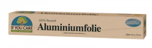 FOLIA ALUMINIOWA 10 m x 29 cm - IF YOU CARE