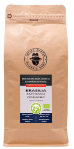 KAWA ZIARNISTA ARABICA 100 % BRAZYLIA FAIR TRADE BIO 1 kg - COFFEE HUNTER
