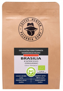 KAWA ZIARNISTA ARABICA 100 % BRAZYLIA FAIR TRADE BIO 250 g - COFFEE HUNTER